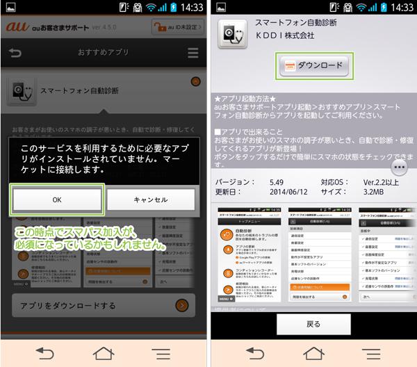 04_スマートフォン自動診断・auMarketダウンロード